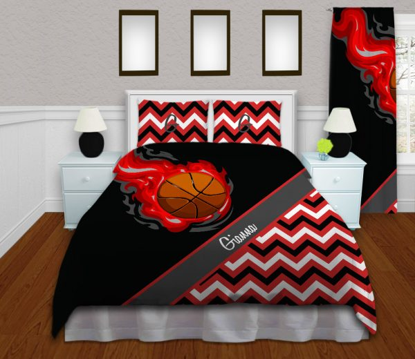 Girl-Basketball-Bedding