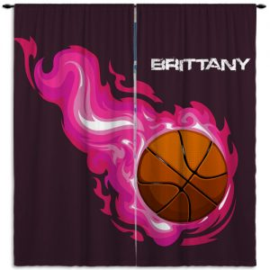Girl-Basketball-Purple-Curtain