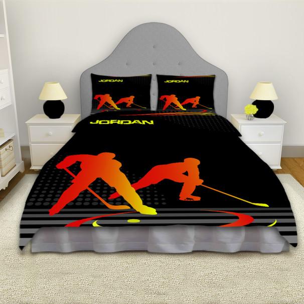 Hockey-Comforter-Orange