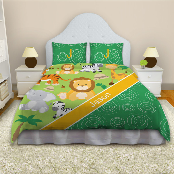 Jungle-Safari-Green-Comforter