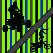 Lime-Green-ATV-Extreme-Sports