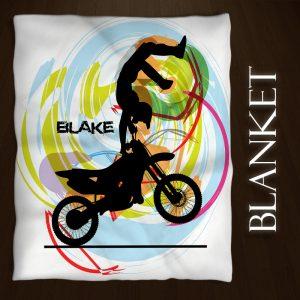 Motocross-Blanket-White