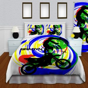 Motocross-Colorful-Bedding