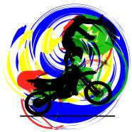 Motocross-Rider-Yellow