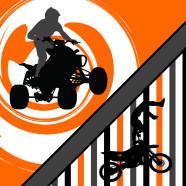 Orange-Motocross-ATV