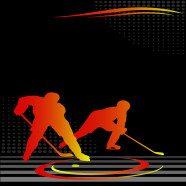 Orange-Yellow-Hockey