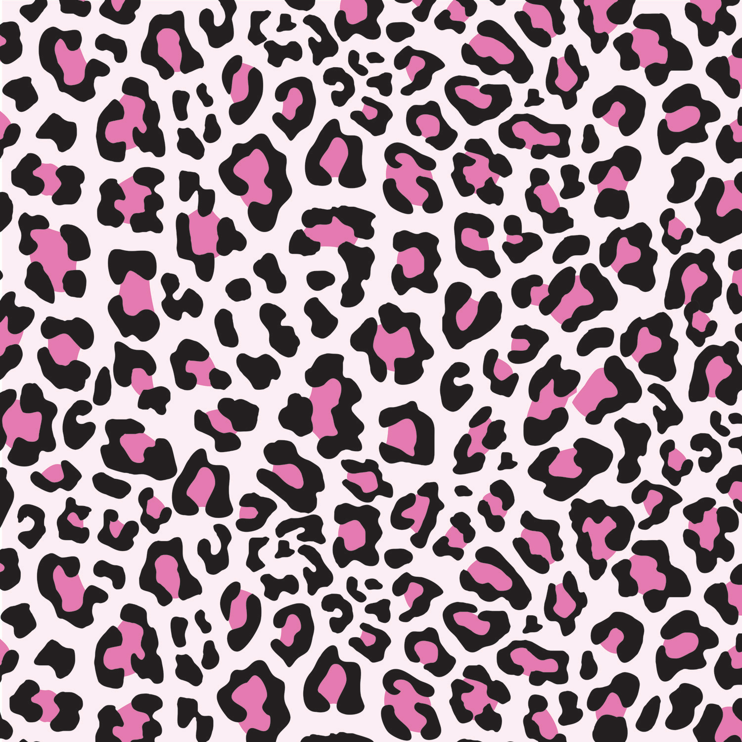 Animal Print Pink and Black Window Curtain for Girls #15 ...Light Pink Cheetah Print Background