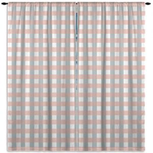 Plaid-Pattern-Curtain