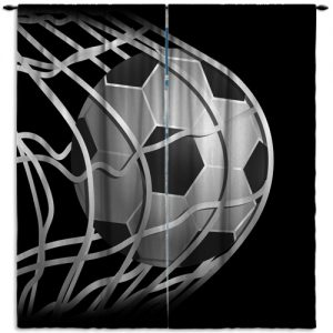 Soccer-White-Black-Curtain-Panel