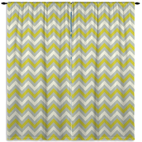 White-Olive-Green-Pattern-Curtain
