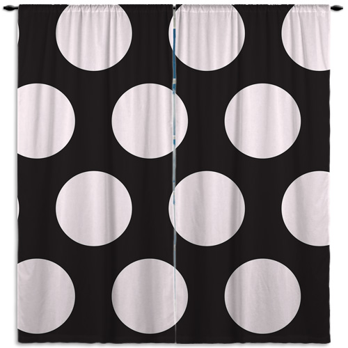 child-Polka-Dot-Black-Window