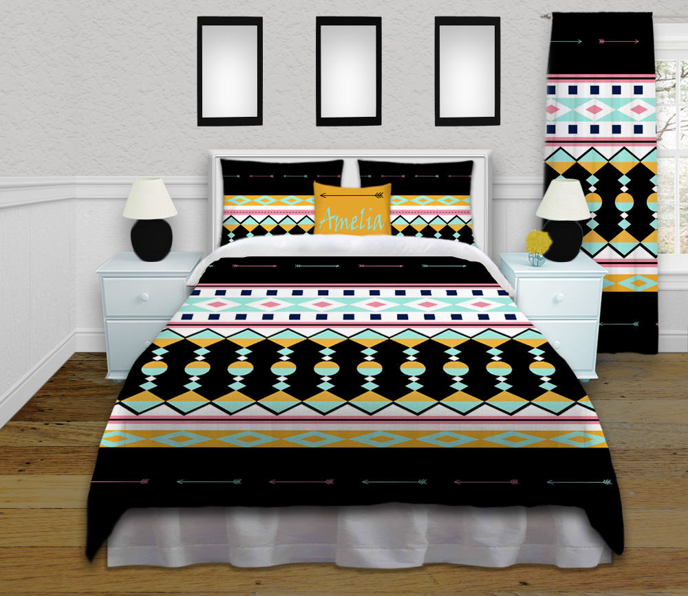 Arrow-Colorful-Bedding