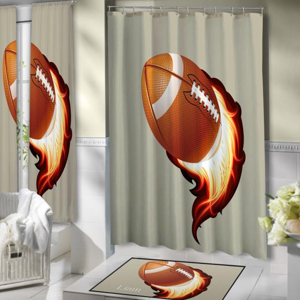 Football-Bathroom-Shower