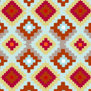 Southwest-Pillow-Red