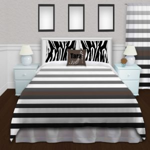 White-Animal-Print-Duvet