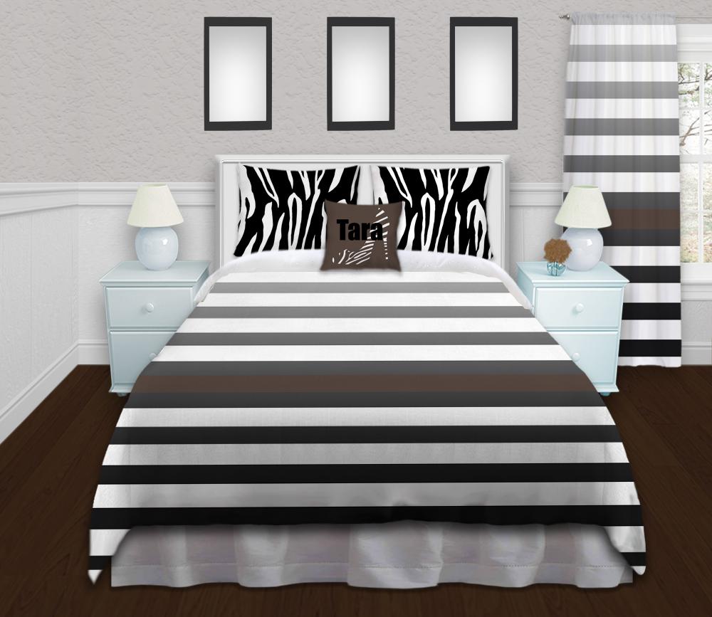White-Animal-Print-Duvet