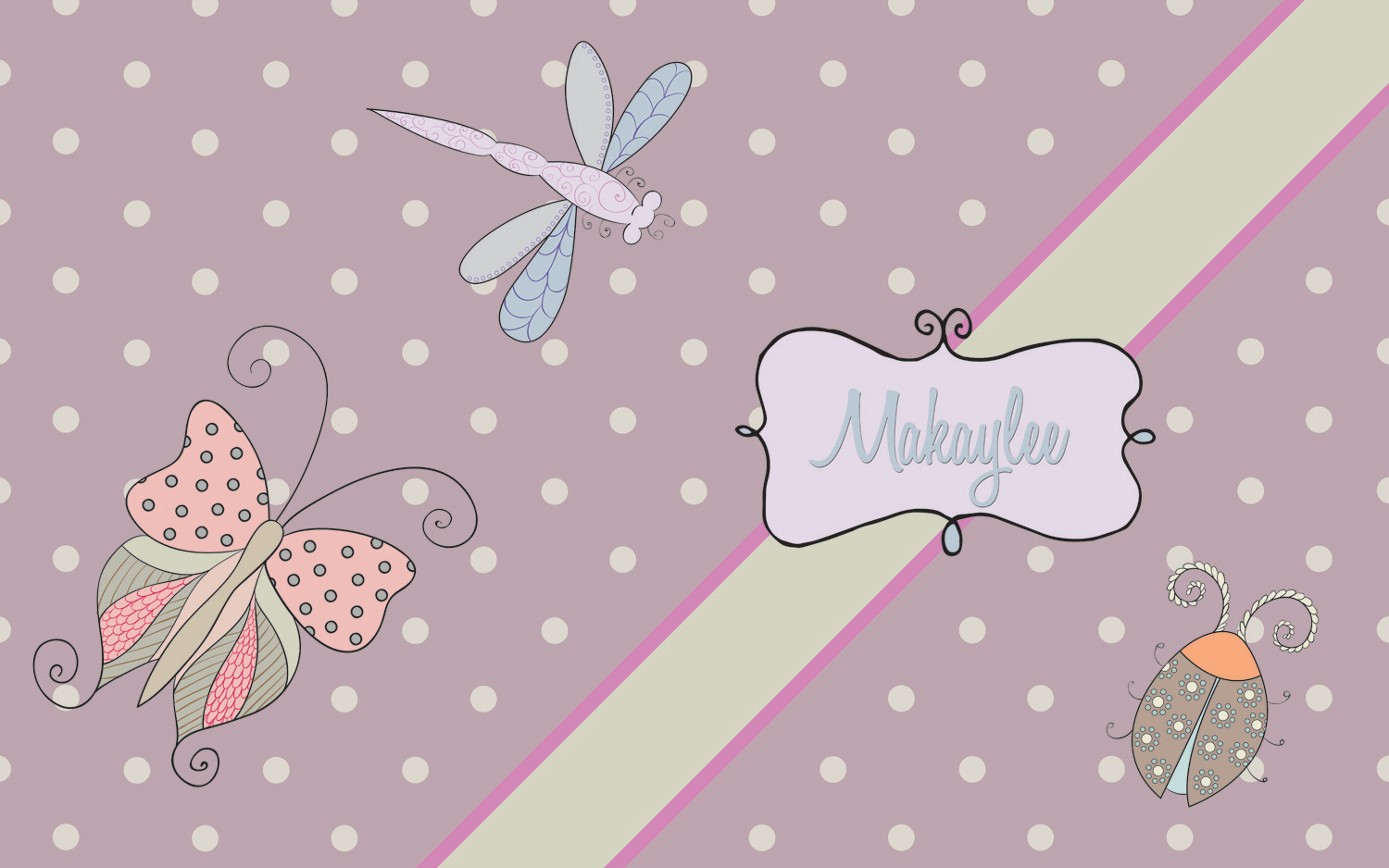 Lavender Butterfly Rug ...