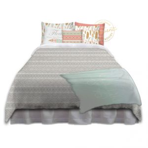 #285_Tribal_Bedroom-Grey-and-Coral-d