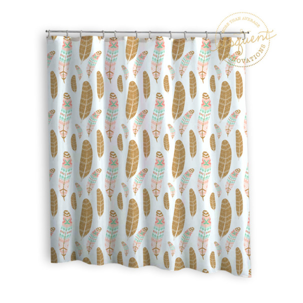 Bohemian-Girls-Shower-Curtain