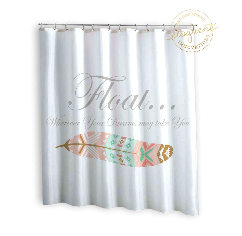 Dorm Shower Curtain