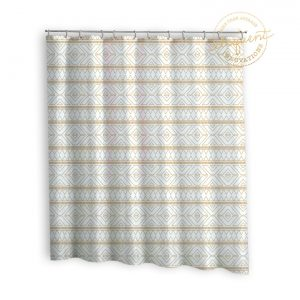 Fabric-Gold-Shower-Curtain