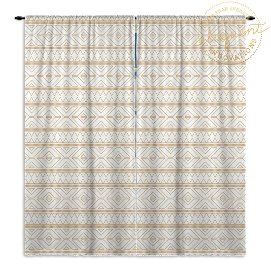 Gold-White-Curtain