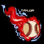 #160_Baseball-Flames