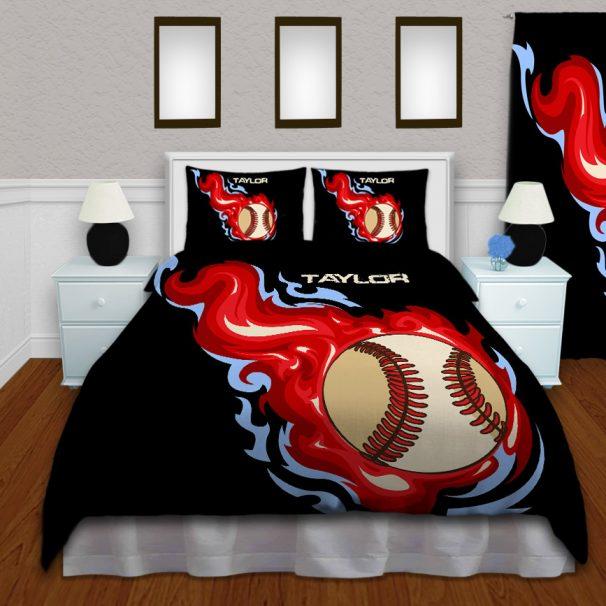#160 Boys Baseball Comforter