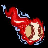 #160 Black Baseball Window Curtains