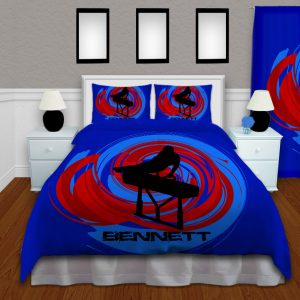 #183 Boys Gymnastics Bedding Set