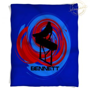#183 Boys Gymnastics Blanket