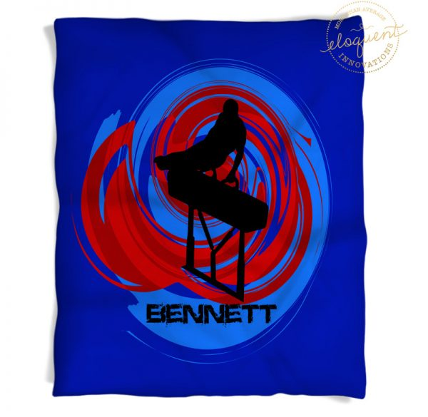 #183 Boys Gymnastics Blanket