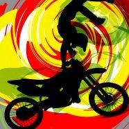 #202_Motocross Pillowcase