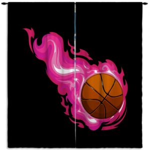 #205_Basketball_Window_Curtain_Panels