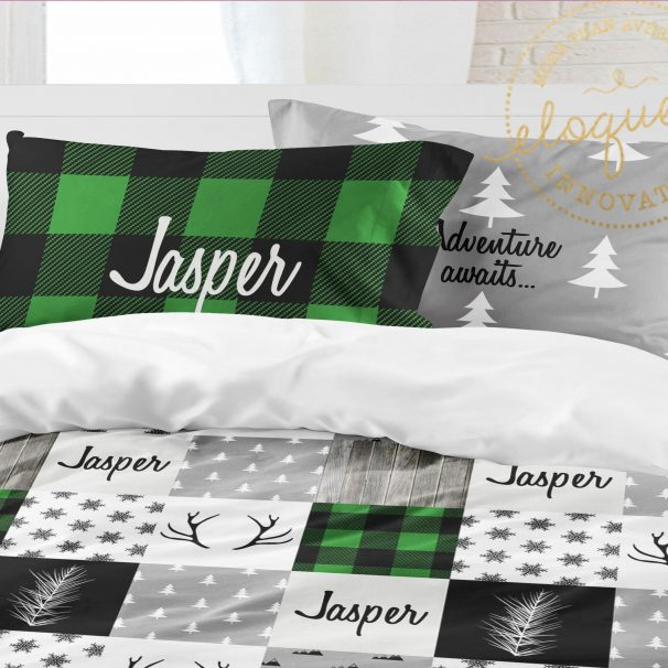 Christmas Bedding - Green