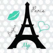 Sea Green Eiffel Tower