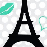 Eiffel Tower Bedding & Comforter Set