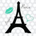 Eiffel Tower Window Curtains