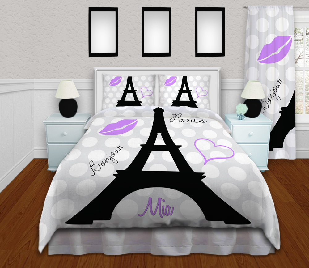 Eiffel Tower Bedding Set