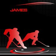 #229 Hockey Red