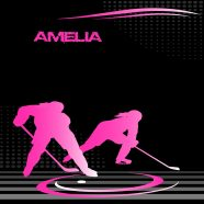 #230 Hockey in Pink