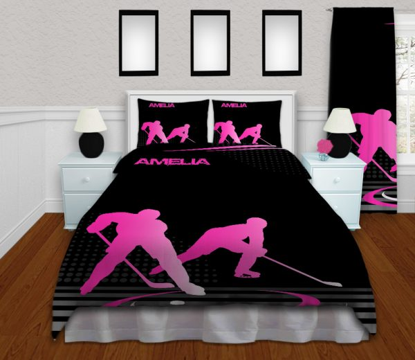 #230 Hockey Bedroom Set in Pink