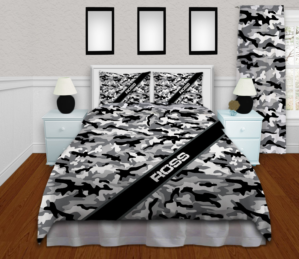 #232 Kids Camo Bedding