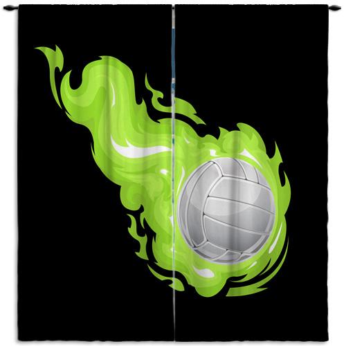 #239_Volleyball_Window_Curtain