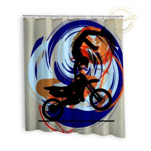 #249_Motocross_Shower_Curtains