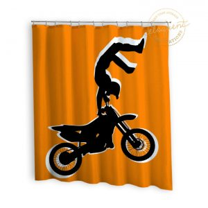 #251_Motocross_Shower_Curtain