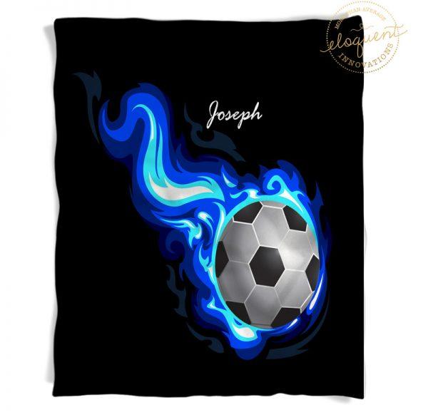 #252_SoccerFlame_Blanket