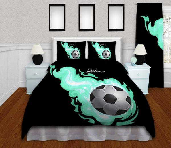 #254_SoccerFlame_Beding_Set