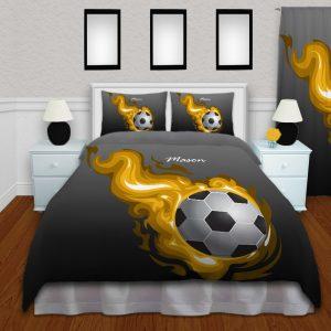 #257_SoccerFlame_Bedding