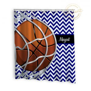 #258_BasketballTeam_Shower_Curtain
